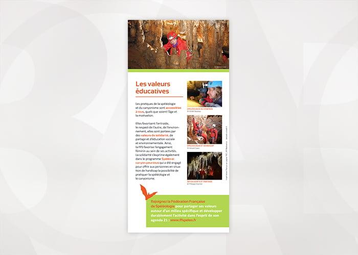 Depliant Federation Francaise de Speleologie - Baobab -04