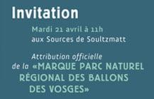 Invitations Parc des ballons des Vosges