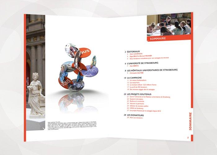 Rapport d'activité Fondation Université Strasbourg baobab 2