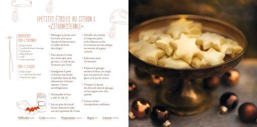 Zitronesternle - Bredeles d'Alsace