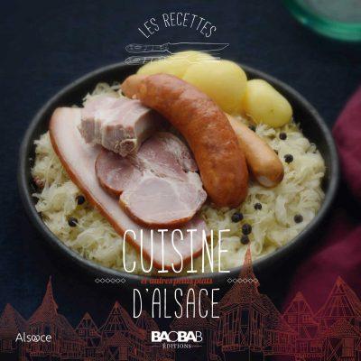Cuisine d'Alsace et autres petits plats - Couverture