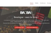 Une Boutique en ligne pour Baobab !