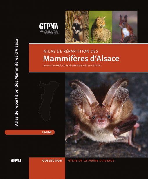Mammiferes d'Alsace Couverture