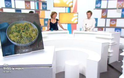 Médias : notre livre sur les pâtes alsaciennes sur France3