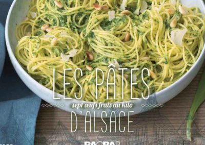 Les pâtes d'Alsace – Livre de cuisine