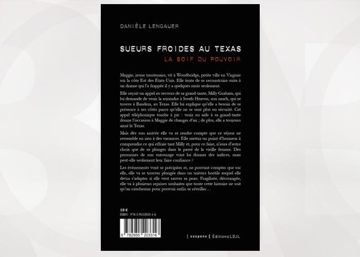 Publication roman - Sueurs froides