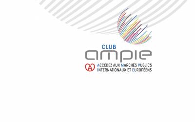 Collaboration fructueuse avec le Club AMPIE, spécialiste des marchés publics internationaux